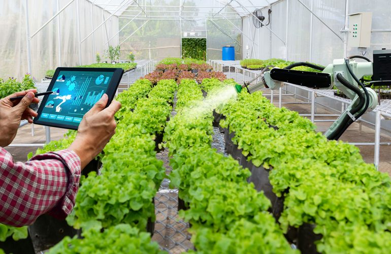 Smart farming monitoring solution